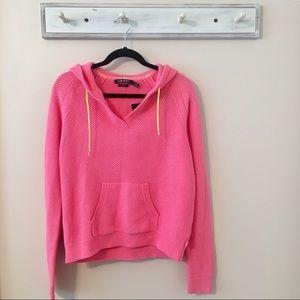 Ralph Lauren Active Pink Hoodie